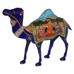 Meena Metal Painting Camel
