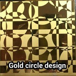Stainless Steel Gold Etching Sheets