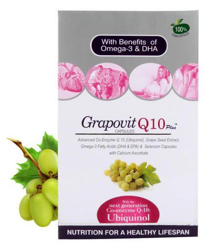 Grapovit Q10 Plus Capsules