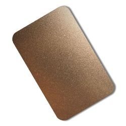 Stainless Steel Coloring Sand Blast Sheets