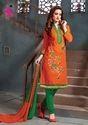 Cotton Designer Churidar Suit