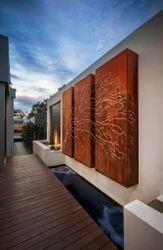 Corten Steel Panels / Boxes