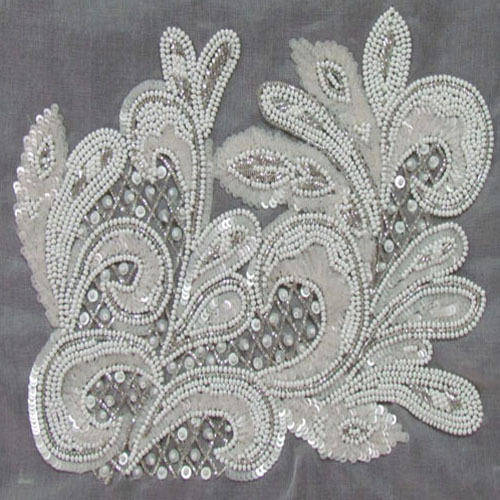 Beaded Embroidery Beaded Embroidery Services Exporter From Mumbai
