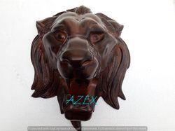 Antique Large Metal Lion Head