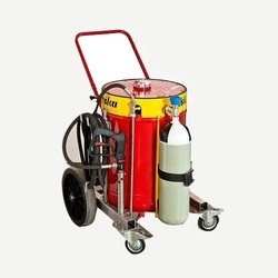 Trolley Mounted Water Mist Fire Fighting System