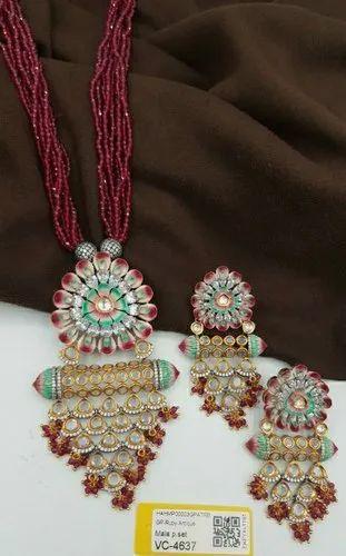 Jewellery Kundan Mala Set