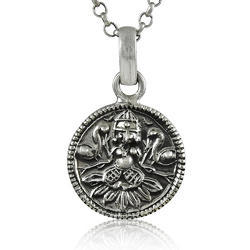 Indian God 925 Sterling Silver Pendant