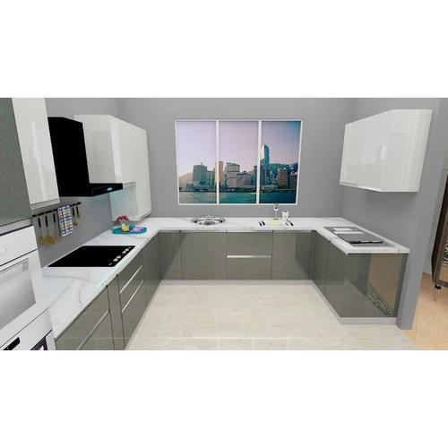 Modular Kitchen Designer U Shaped Modular Kitchen Manufacturer