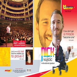 Nick Vijicic Wrapper Note Book
