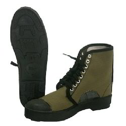 Canvas Military Boots