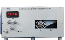 Contact - Non Contact Type Digital Tachometer Calibrator