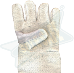 Asbestos Hand Gloves with Kevlar Patch On Reverse Side Of Pa