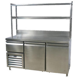 Stainless Steel Food Counter for Hotels