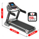 Powermax TAC-510  4.5HP AC Commercial Motor Treadmill with 7.1 in LCD Display