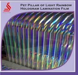 Holographic Rainbow Lamination Sheets