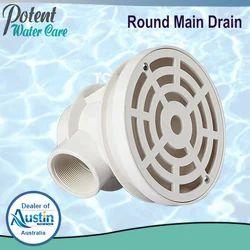 Round Main Drain