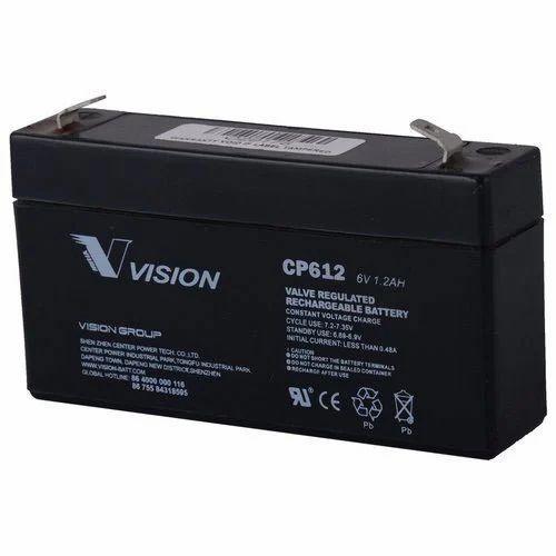 6V 1.2AH Sealed Lead Acid Battery