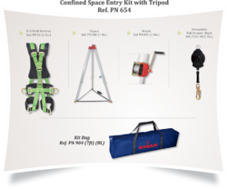 Confined Space Kit with Tripod