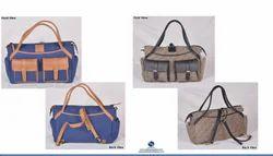Premium Canvas Leather Diaper Bags