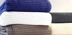 Organic Waffle Weave Cotton Fabric