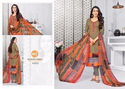 3/4 Sleeve Essenza Salwar Suit Fabric