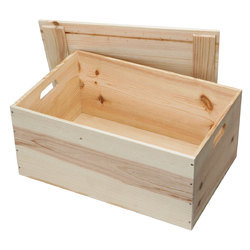 Heavy Pine Wood Boxes