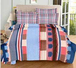 Always Plus Cotton Double Multi-Color Bedsheet