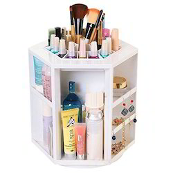 360-Degree Rotating Cosmetic Storage Box