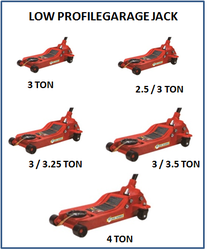 Low Profile Garage Jack 3.25 Ton JM 706 03
