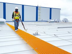 FTC Fiber Glass Roof Top Walkway, Size: 1223 X 3654