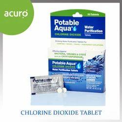 Chlorine Dioxide Tablet