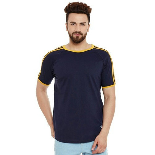 Round Neck Apple Cut T Shirt