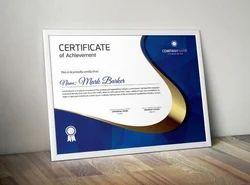 Custom Printed Certificates