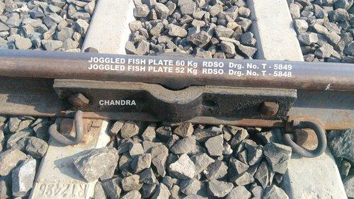 Railway Fish Plate Joggled Fish Plate 60 Kg Amp 52 Kg