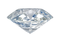 AAA SI Quality Natural 1.00 Carat Diamond