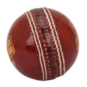 BDM Olympic Red Cricket Leather Ball