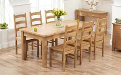 Hardwood Dining Table Set