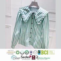 Organic cotton ladies Woven Garments Manufacturer