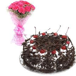 Ecommerce Shop Online Business Of White Forest Mixed Bunch By Midnight Cake Delivery Chennai