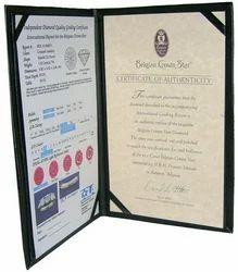 Black Certificate Holder