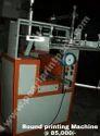 Eco Model Round Screen Printing machine