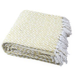 Thick Woven Throw Blanket
