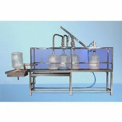 Jar Rinsing Filling Machine