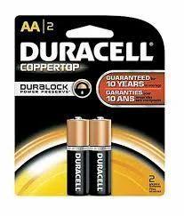 Duracell AA Alkaline Batteries