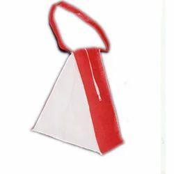 Triangle Jute Beach Bags