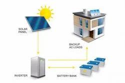1 KW (B) Solar Off-Grid System