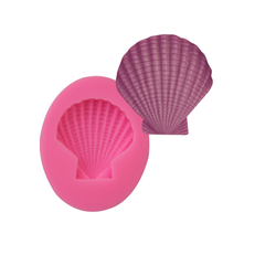 Silicone Soap Mold - Shell Shape