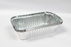 Silver Food Container