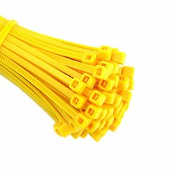 150 Mm Yellow Cable Ties