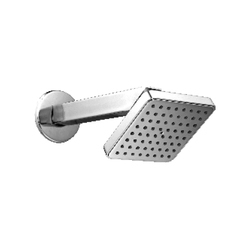 Square Cuba 4x4inch with 9 inch Arm Shower
